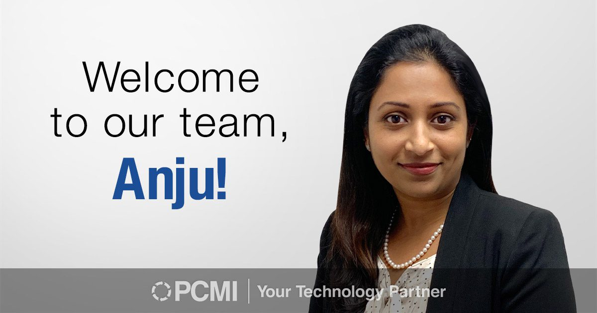Welcome to our team Anju
